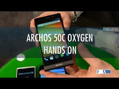 Archos 50C Oxygen Hands On