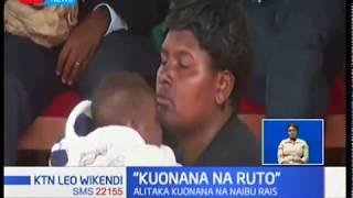 Mama azua vitimbi Eldama Ravine baada ya walinzi kumzuia kuonana naye rais William Ruto