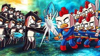 Minecraft | 501 Cody Clones vs 501 Evil Joebuz! (Civil War Massive Mob Battles)