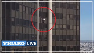 🧗?♀️ Il a escaladé la tour Montparnasse À MAINS NUES: Alexis Landot nous raconte son ascension