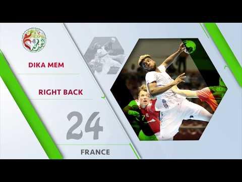 Dika Mem (FRA) - All-star right back | IHFtv - Algeria 2017 Men's Junior WCh