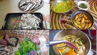 নানান রকমের ছোট মাছ কিভাবে  কাটলাম ও রান্না করলাম/ Bangladeshi vlogger  Toma /vlog /Blogger