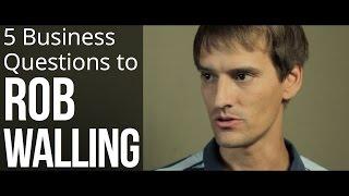 5 Business Questions To Rob Walling(YOWO documentary bonus)