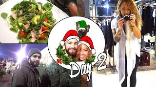 Christmas Tree, Dogs & Allsaints Night ❄ Vlogmas No.2 Thumbnail