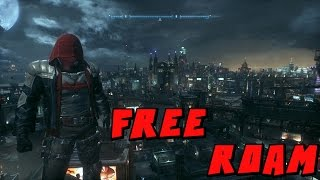 Batman Arkham Knight Red Hood Free Roam Mod