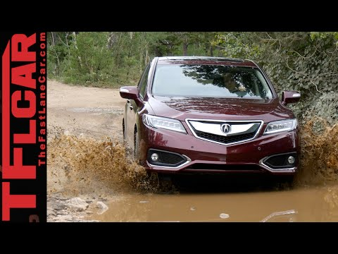 2016 Acura RDX takes on the Gold Mine Hill Off-Road Review