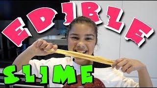 Making Crunchy Edible Slime | Grace's Room