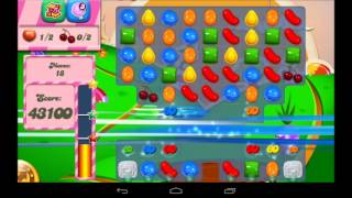 Candy Crush Saga Level 72 Walkthrough