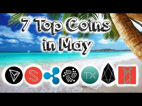 7 Top coins in May! (2018)