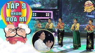 Mãi mãi thanh xuân | Tập 9: Kim Tử Long nhún nhảy khi xem phần trình diễn của nhóm hát trên 60 tuổi