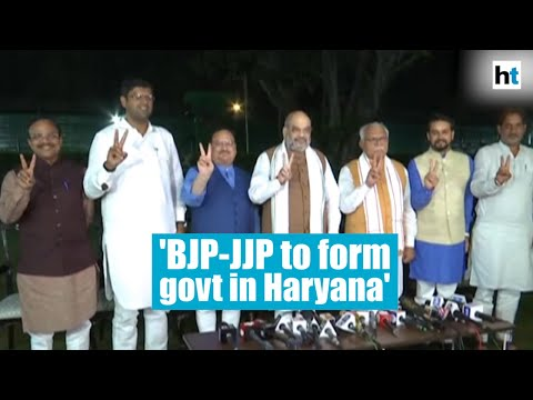 BJP-JJP ready to form government in Haryana: Amit Shah