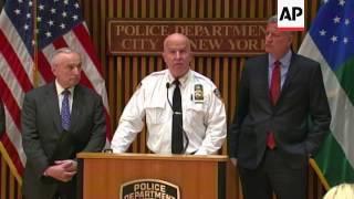 NYPD Rehearses Terror Attack Response