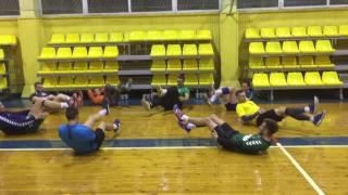 KTU Handball pasiruošimas 2016/2017