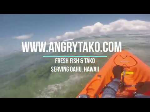 Rough Whitewater Ocean kayaking with Hobie Outback Oahu, Hawaii