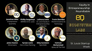 Equity in Entrepreneurship Roundtable at St. Louis Startup Week 2020