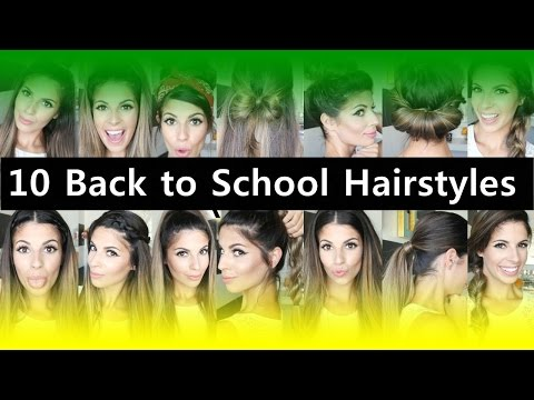 Top 10 Back to School Hairstyles for Teenage Girls