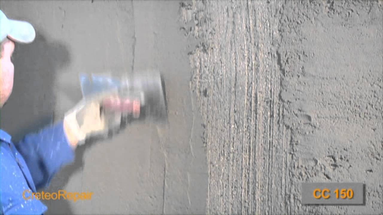 Sichtbeton Spachtel röfix betoninstandsetzung teil 17 24 händische applikation
