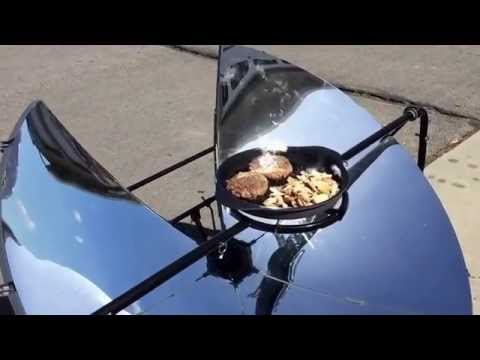 "Solar Power Cooker ""SolSource"" Works Amazing"