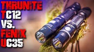 Thrunite TC12 vs. Fenix UC35 Taschenlampe - Review Vergleich Test deutsch - Outdoor EDC Deutschland