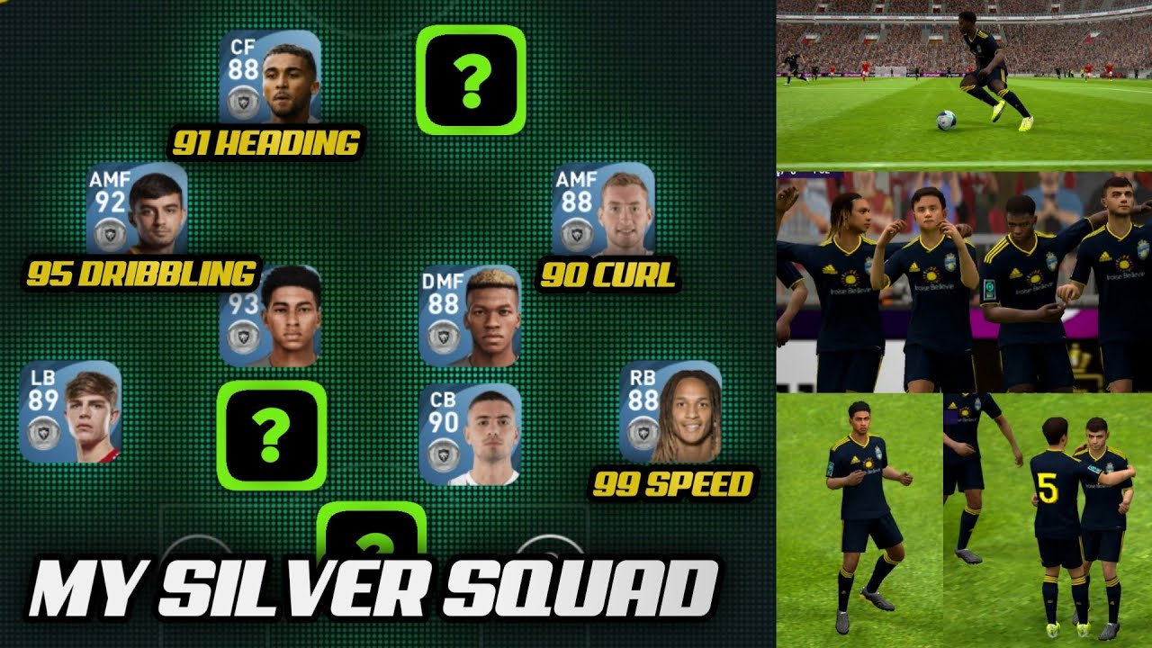 My Silver Squad • Underrated Hidden Gems in Pes 2021