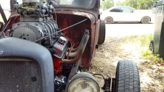 1941 chevy rat rod supercharged sbc 350