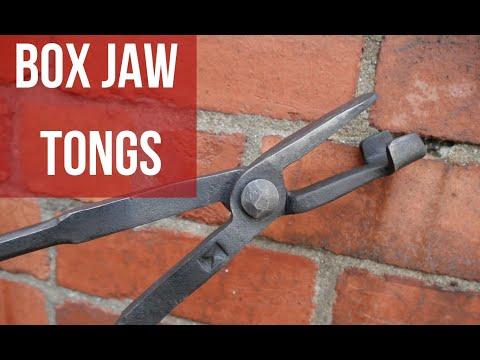 Blacksmith Box Jaw Tongs! Step By Step!