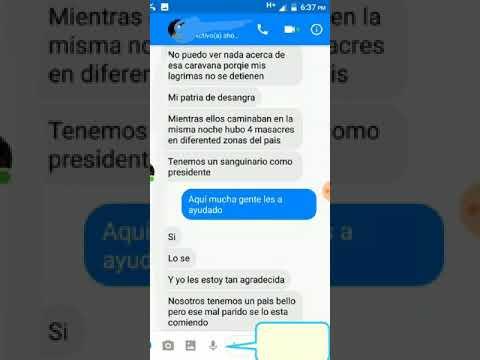 Lo Que Se Esta Viendo En Honduras (chat Con Hondureño)