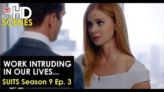 Suits Season 9 Ep. 3: Work Intruding In Our Lives Scene FULL HD