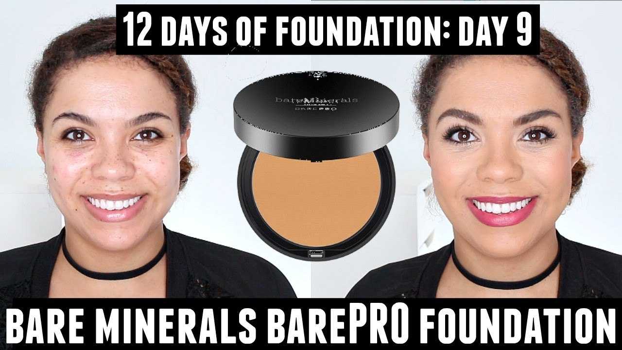 bare minerals compact foundation