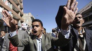 اليمن: مظاهرة مناهضة للحوثيين في تعز و أخرى مؤيدة في صنعاء