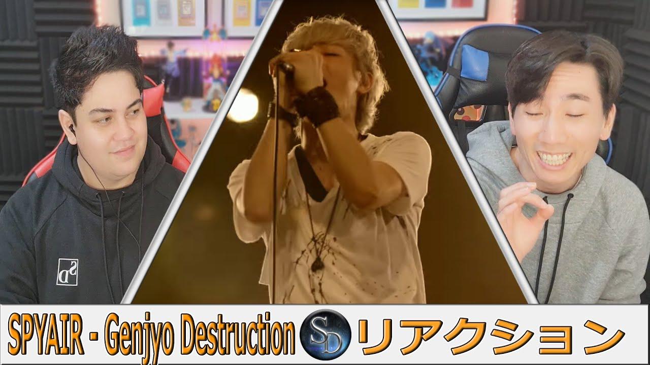 現状ディストラクショ ン リアクション!!!  SPYAIR   MUSIC VIDEO   Reaction   GINTAMA?!