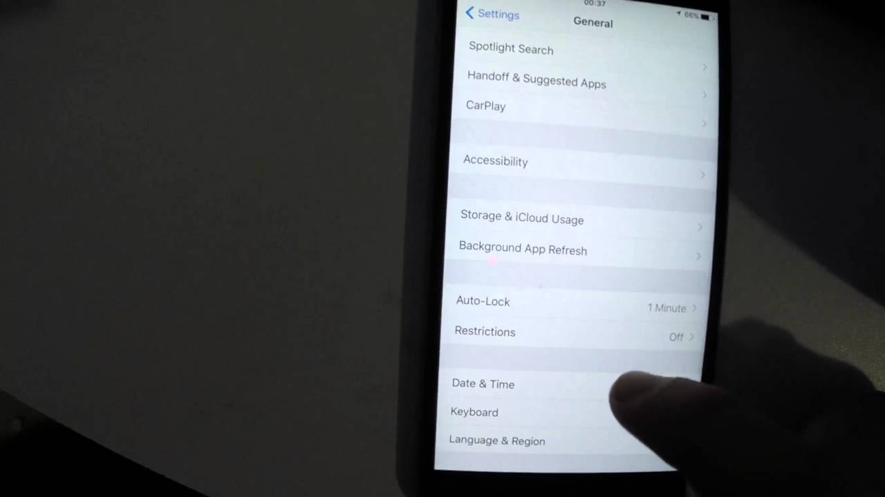 how to change time on iphone how to change date and time with iphone 6s 3509