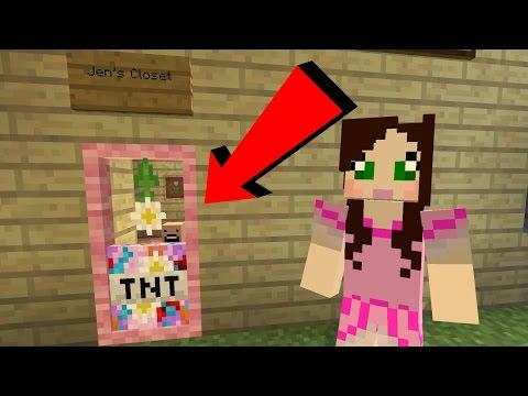 Minecraft: JEN'S CLOSET CHALLENGE [EPS9] [46] - Видео из Майнкрафт (Minecraft)