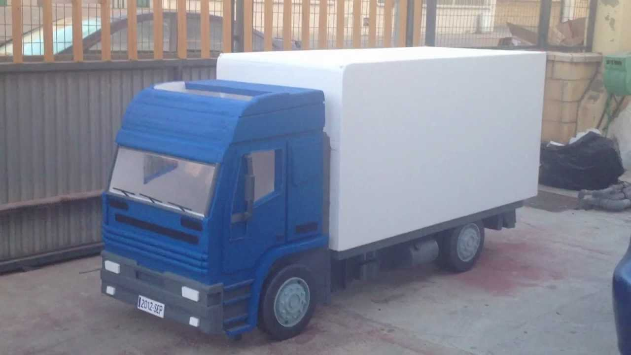 camion de corcho youtube. Black Bedroom Furniture Sets. Home Design Ideas