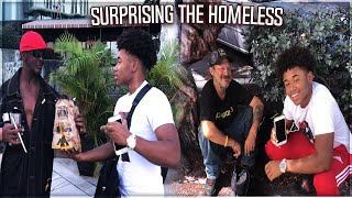 ASKING THE HOMELESS TO PICK A NUMBER 1-3