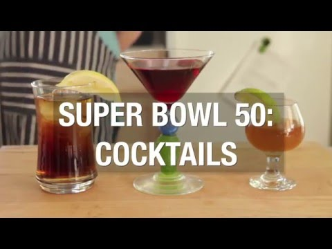 Super Bowl 50: Broncos And Panthers Inspired Cocktails
