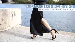 Grana Clothing Review - Lookbook and Try On | Mademoiselle