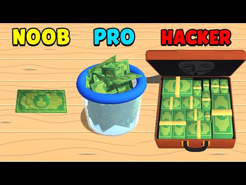 NOOB Vs PRO Vs HACKER - Money Buster