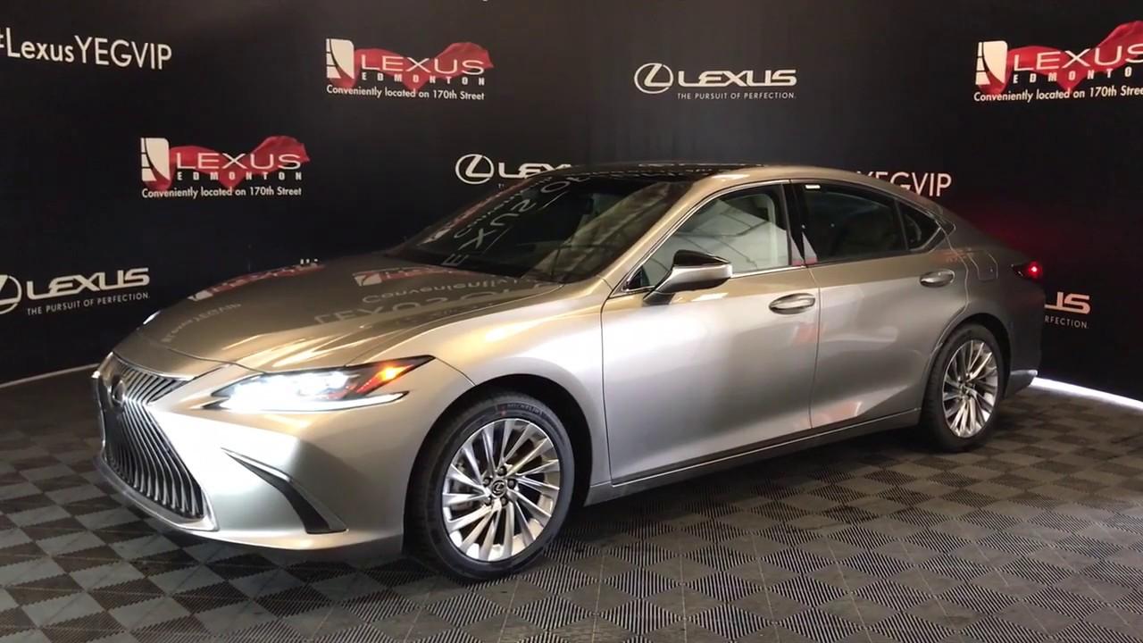 Atomic Silver 2020 Lexus Es 350 Ultra Luxury Package Review Lexus Of Edmont Youtube