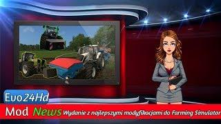 Mod News| New Holland T7, Claas Xerion, siewniki i mapa | #1 [1080p60fps] PATRZ OPIS!!!!!!!