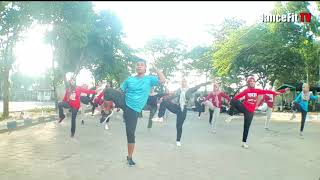 Download lagu Senam Aerobik High Impact | iDanceFit TV Madiun
