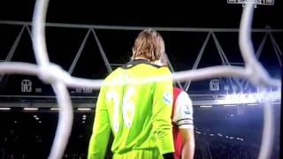 Robin Van Persie Vs Tim Krul Fight Arsenal 2-1 Newcastle 12/3/2012
