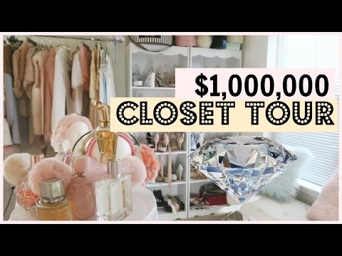 MILLION DOLLAR CLOSET TOUR & selling clothes!
