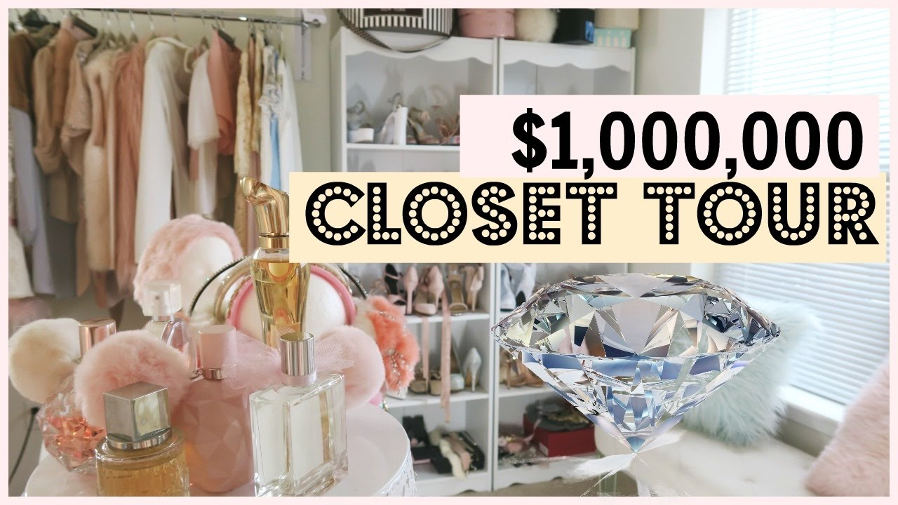 MILLION DOLLAR CLOSET TOUR Selling Clothes