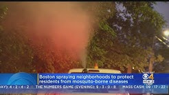 Mosquito Spraying In Boston Amid EEE Fears