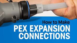 How to Make PEX Expansion Connections thumbnail