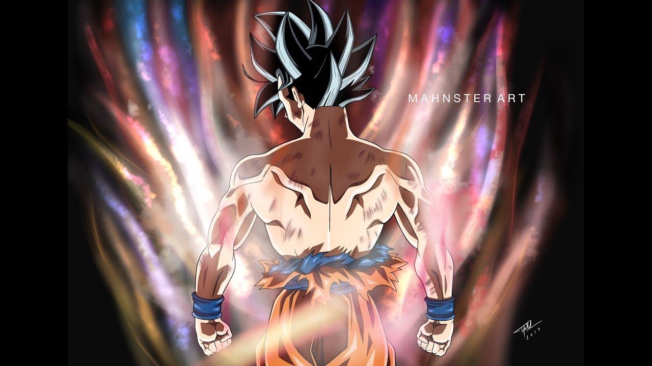Drawing goku ultra instinct new form dragon ball super sketchbook pro mahnster art youtube - Goku ultra instinct sketch ...