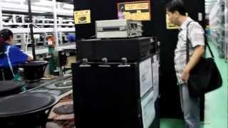 P.Audio Thailand.Speaker Assembling line