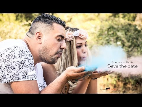 Stavros+Maria // Save The Date