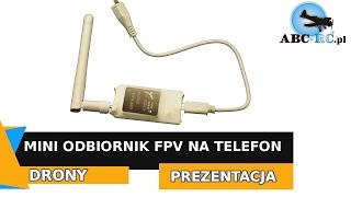 Mini Odbiornik FPV 5,8 GHz na telefon - OTG USV - ABC-RC.PL